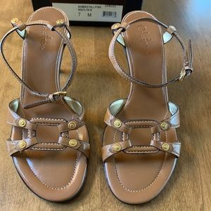 Cole Haan neutral sandals